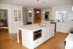 Washington CT cape home kitchen after remodel