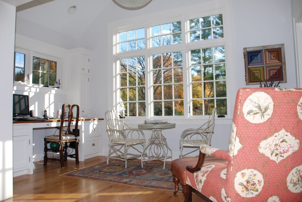 Washington CT home interior after DeMotte Architects remodel