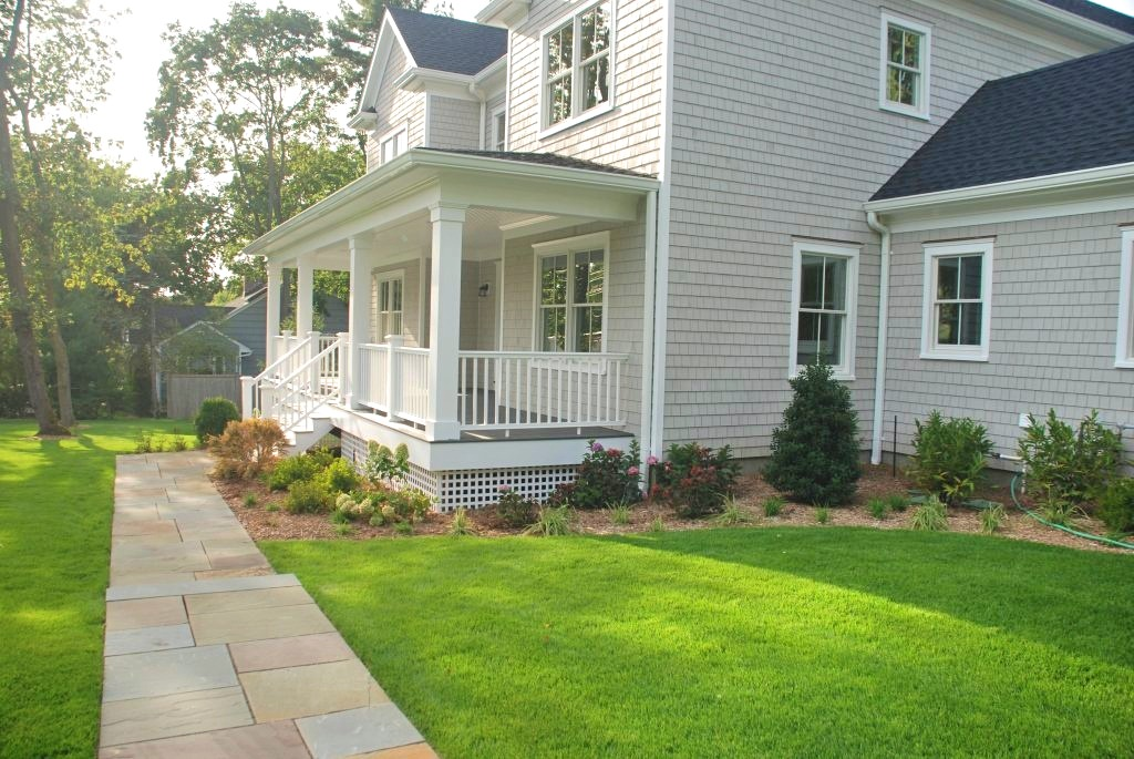 Westchester County NY home design side elevation