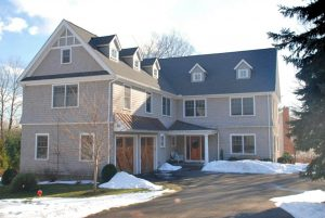 Westport CT home remodel by DeMotte Architects, ranch to shingle style