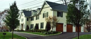 side view westchester county ny colonial home after remodel
