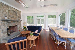 indoor outdoor space in westport ct