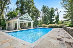 Katonah NY pool house design by DeMotte Architects