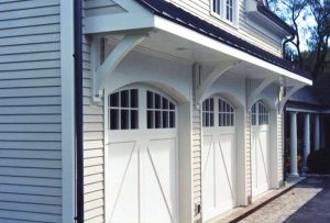 New Canaan CT 3 car garage by DeMotte Architects