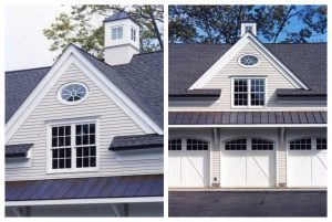 New Canaan CT garage addition with apartment by DeMotte Architects