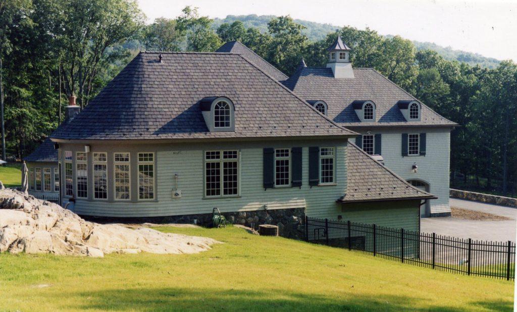 ny pool house exterior