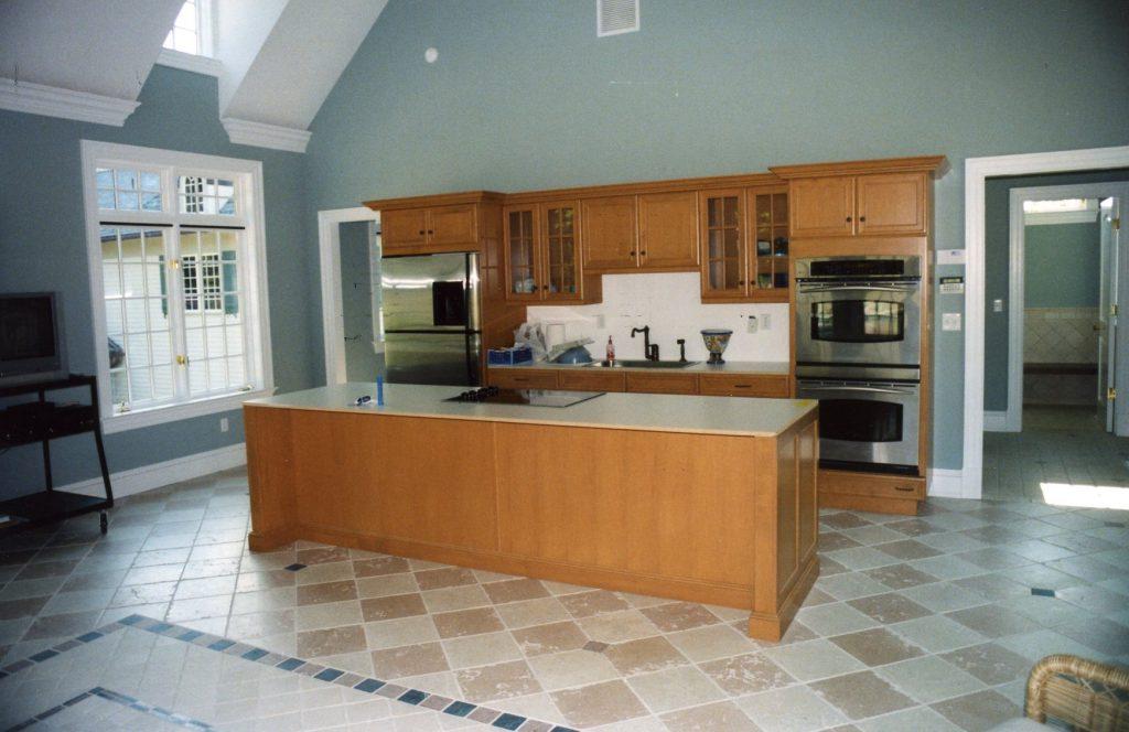 pool house interior in katonah ny