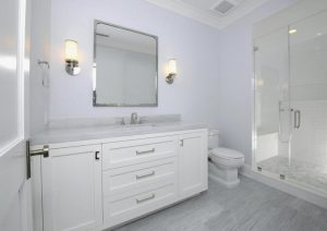 Bathroom in Greenwich CT Colonial home