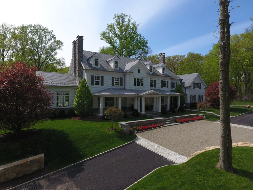 demotte architects spec house driveway