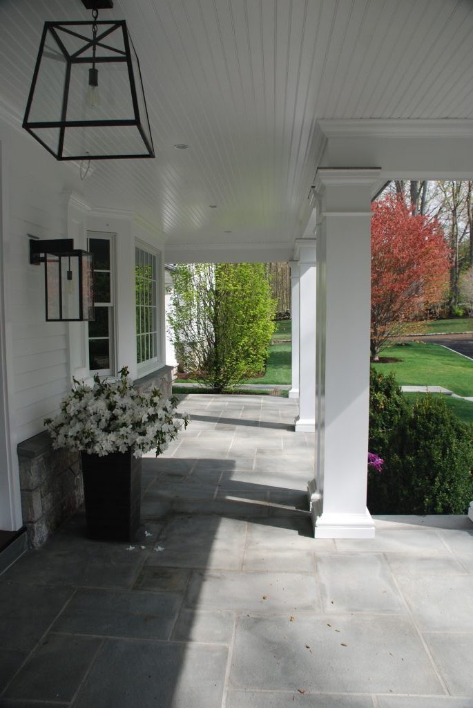 greenwich ct spec house porch