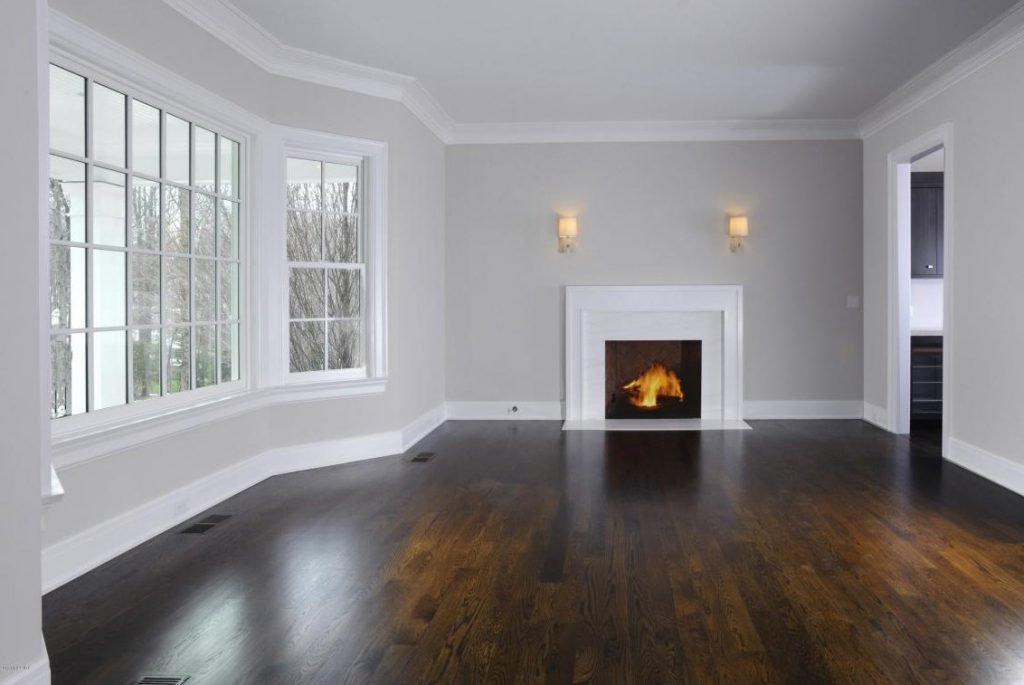 family room with fireplace ct
