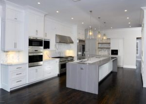 Greenwich CT Colonial home kitchen
