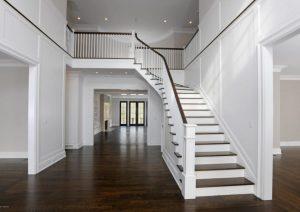 Greenwich CT home design interior foyer
