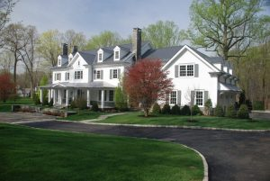 Spec house in Greenwich CT exterior