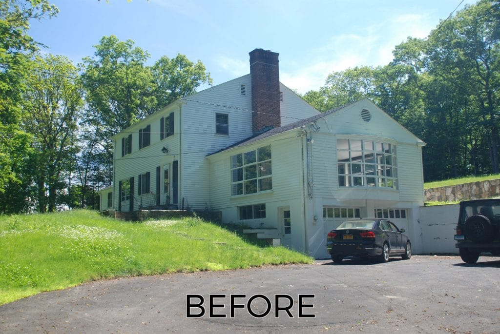 Mt Kisco NY home before remodel