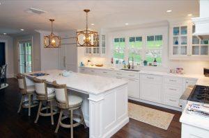 Mt Kisco NY modern farmhouse kitchen after remodel