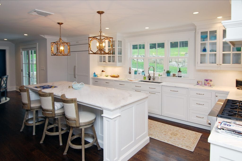 Mt Kisco NY modern farmhouse kitchen after remodel