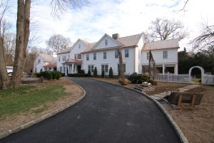 after photo of home greenwich ct