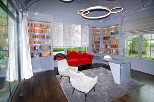 library in greenwich ct colonial home by demotte architects