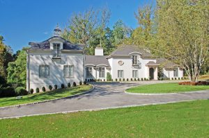 european home exterior in greenwich ct