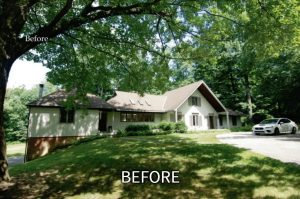 Greenwich home before remodeling