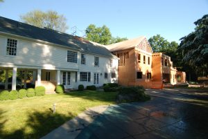 greenwich ct home under construction