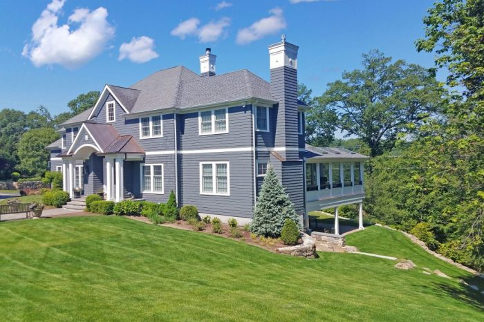 westchester county ny home remodel exterior by demotte architects