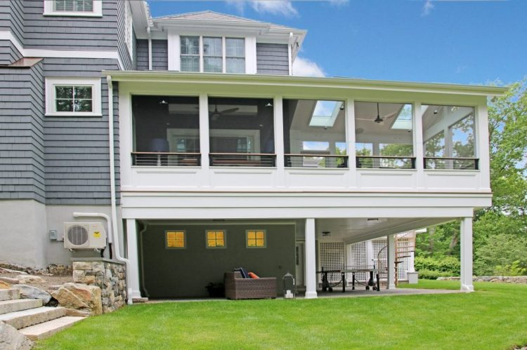 Chappaqua NY 2 story addition by DeMotte Architects