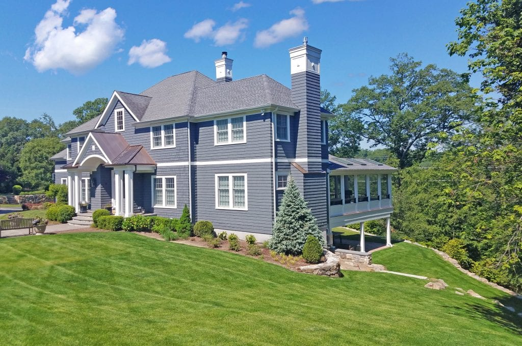 Chappaqua NY home addition by DeMotte Architects