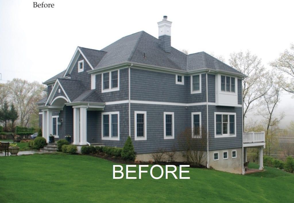 Chappaqua home before remodel