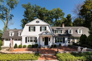 ridgefield ct home addition exterior by demotte architects