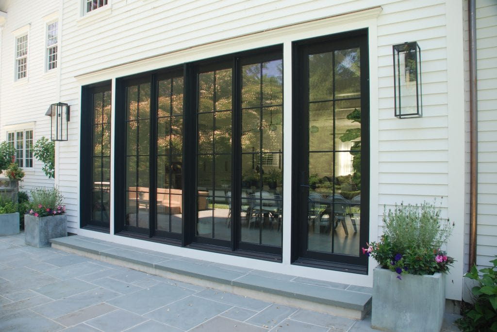 Greenwich CT home closeup after remodel