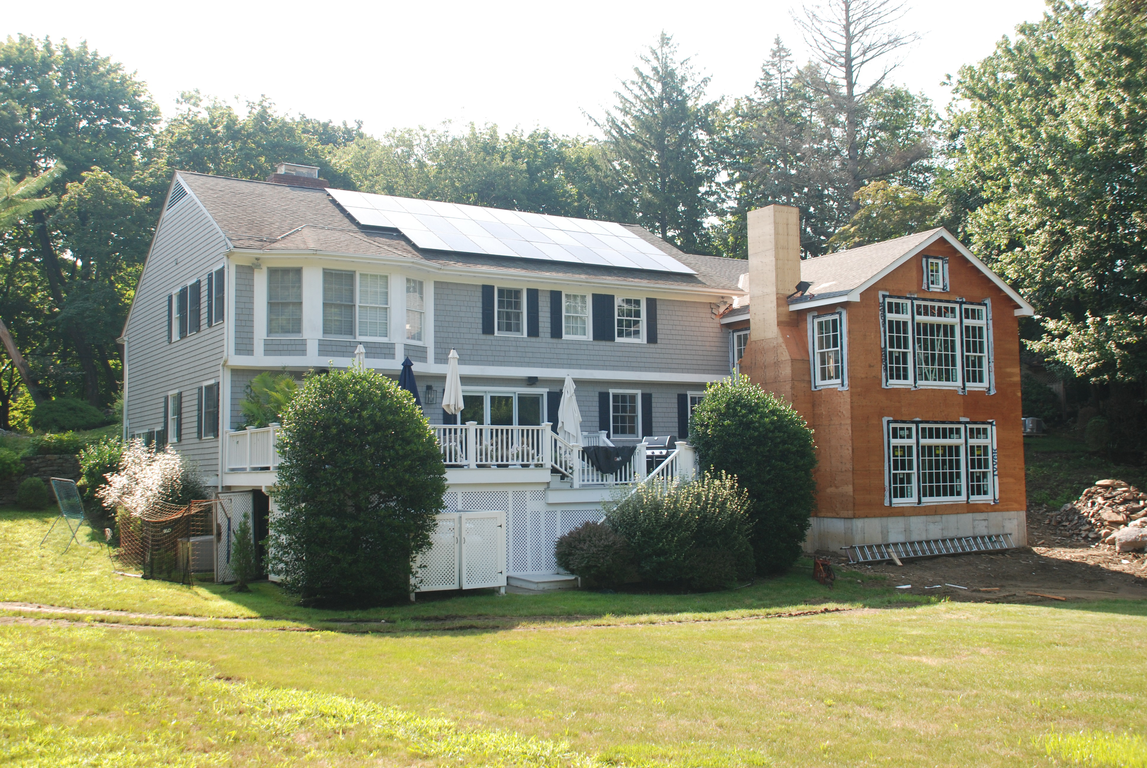 home after remodel exterior shown rye ny