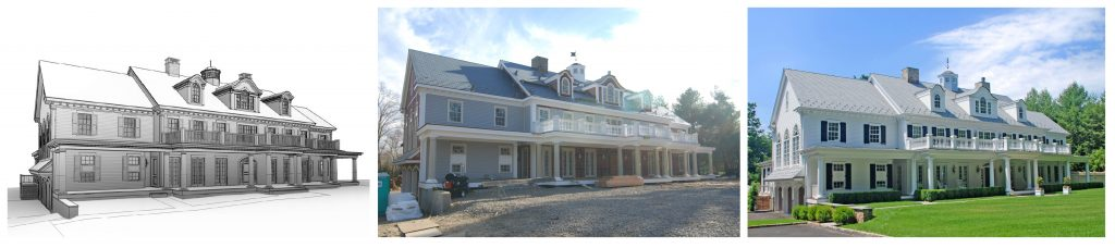 custom home building process by demotte architects in ct
