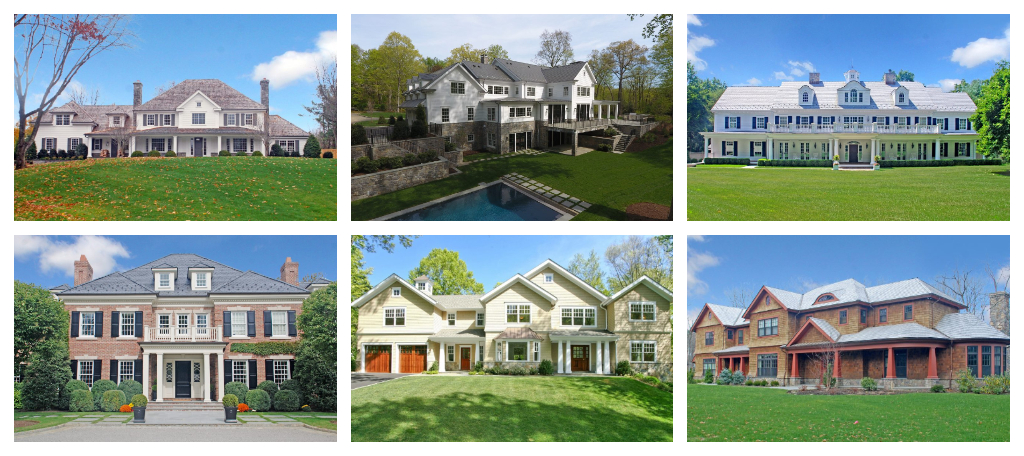 Custom Home Design in Fairfield County CT & Westchester County NY by DeMotte Architects