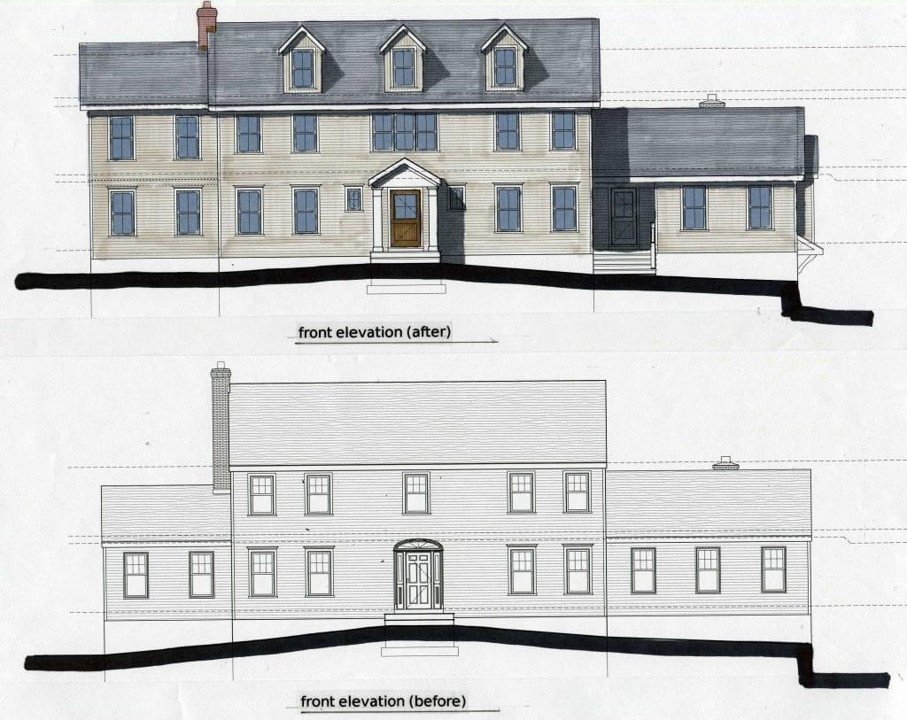 modern farmhouse addition weston ct