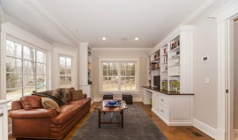 New Canaan CT home interior