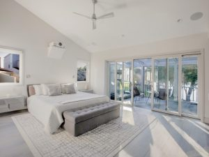 Bedroom after remodel in Eastchester NY by DeMotte Architects