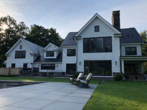 Connecticut modern farmhouse by DeMotte Architects