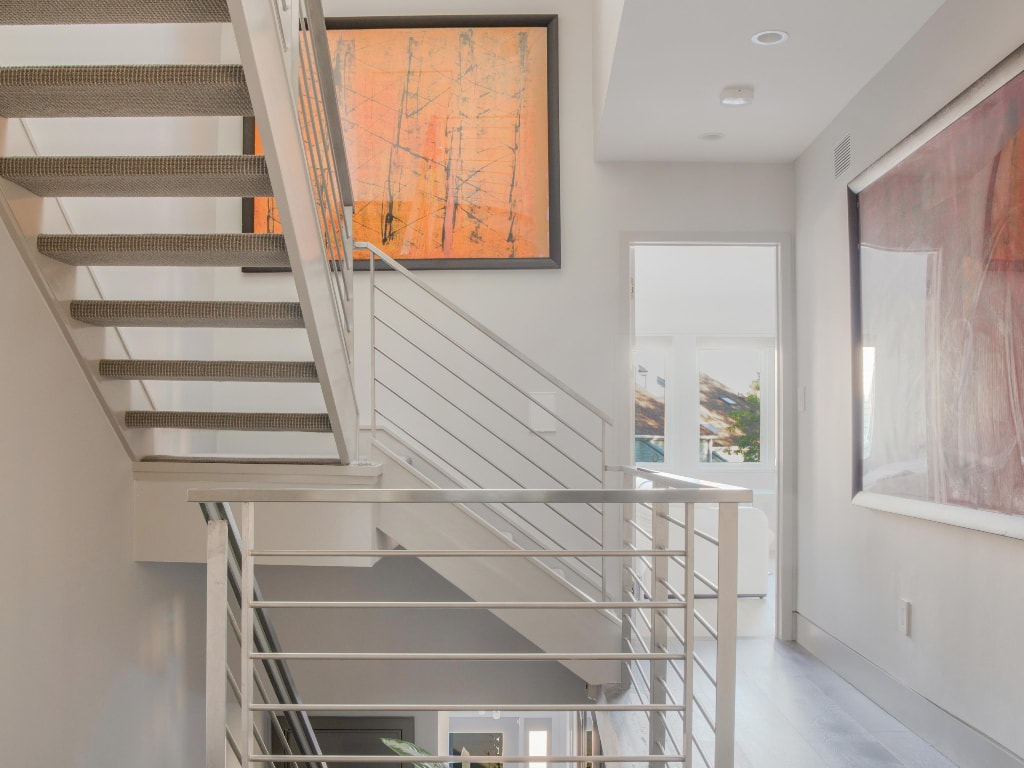 Eastchester NY townhouse remodel by DeMotte Architects