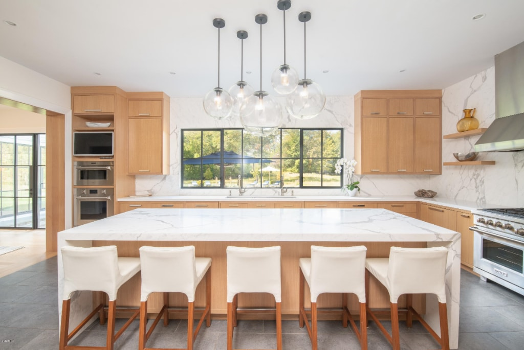 Greenwich CT modern farmhouse contemporary kitchen