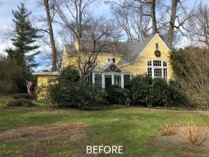 Home before remodel in Mamaroneck
