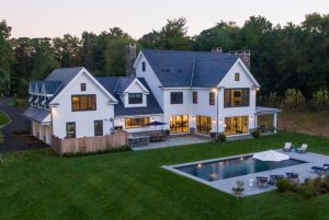 Modern farmhouse by DeMotte Architects located in Greenwich CT