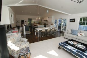 Home addition family room in Rye NY