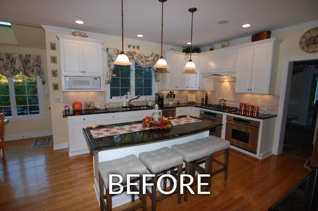 newtown ct home before remodel
