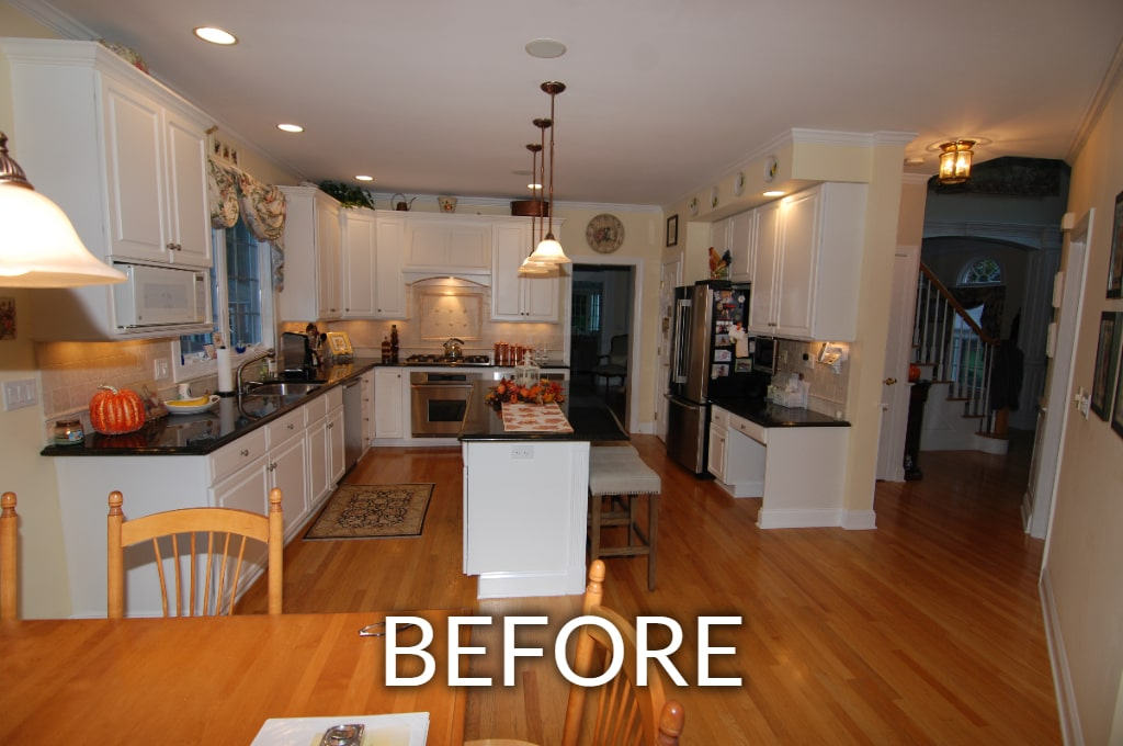 newtown ct kitchen before remodel