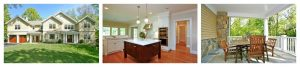 New home by Ridgefield CT architect DeMotte Architects