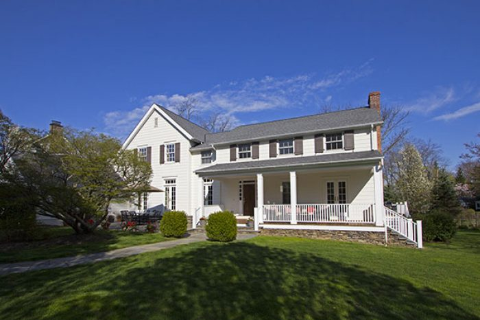 home after garrison colonial remodel in rye ny
