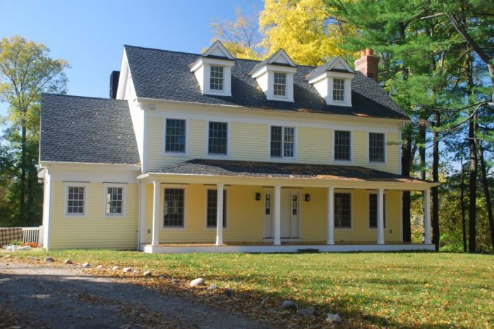 Custom colonial home, Wilton, Ct.