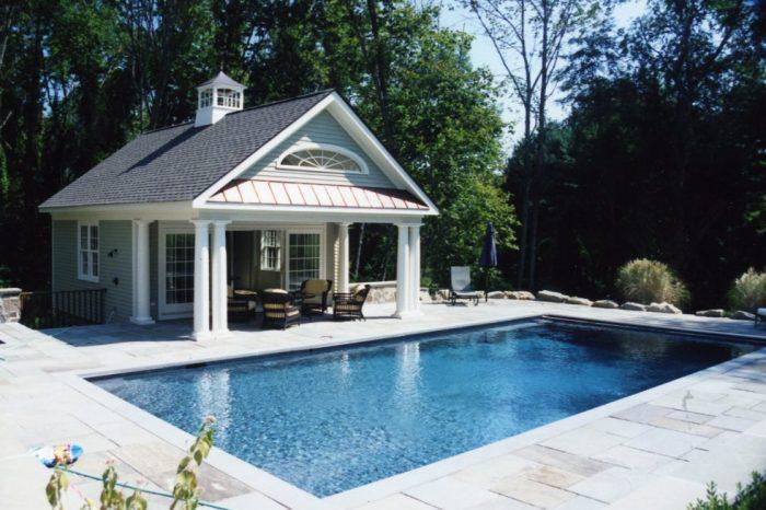 pool house in katonah ny